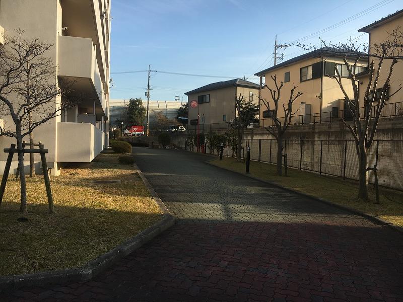 メゾンドール瀬田公園都市1番館の共用部写真