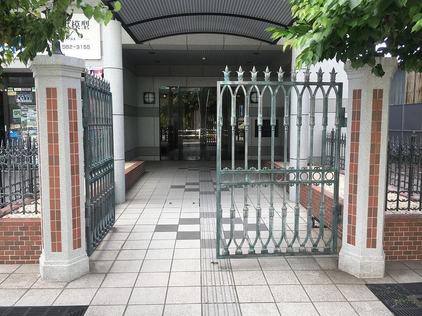 デ・リード草津駅前の共用部写真