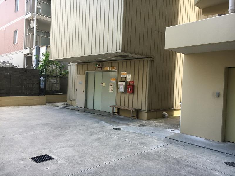 伽羅コート草津壱番館の共用部写真