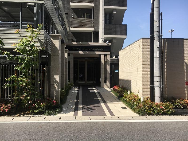 プレサンスロジェ南草津(10階)の共用部写真