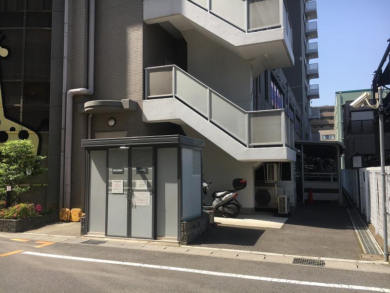 サンコート南草津(10階)の共用部写真